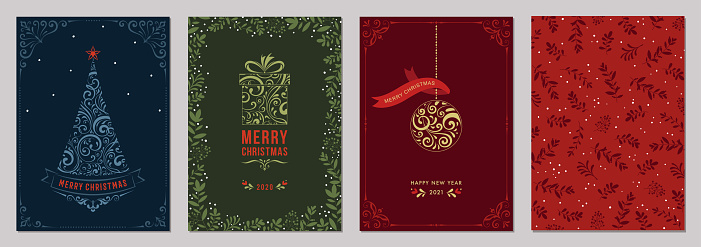 Christmas Greeting Cards and Templates_12