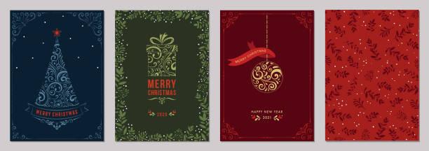 bildbanksillustrationer, clip art samt tecknat material och ikoner med jul gratulationskort och templates_12 - christmas frame