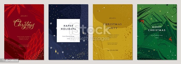 istock Christmas Greeting Cards and Templates_17 1189498559