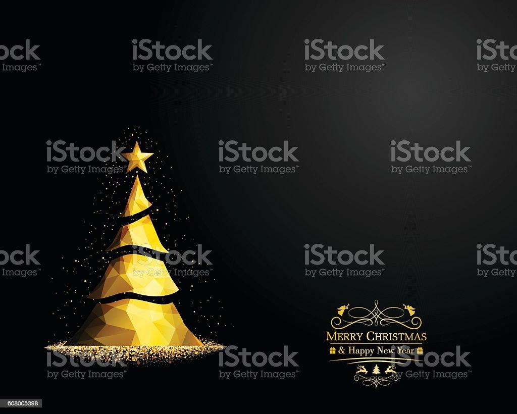 Weihnachten Begrüßung  – Vektorgrafik