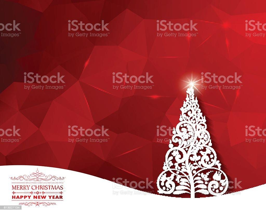 Weihnachten Begrüßung Stock Vektor Art und mehr Bilder von Abstrakt ...