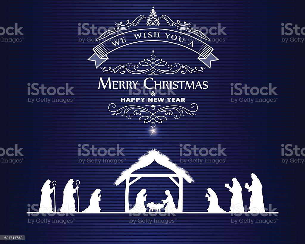 Weihnachten Begrüßung Vektor Illustration 624714782 | iStock