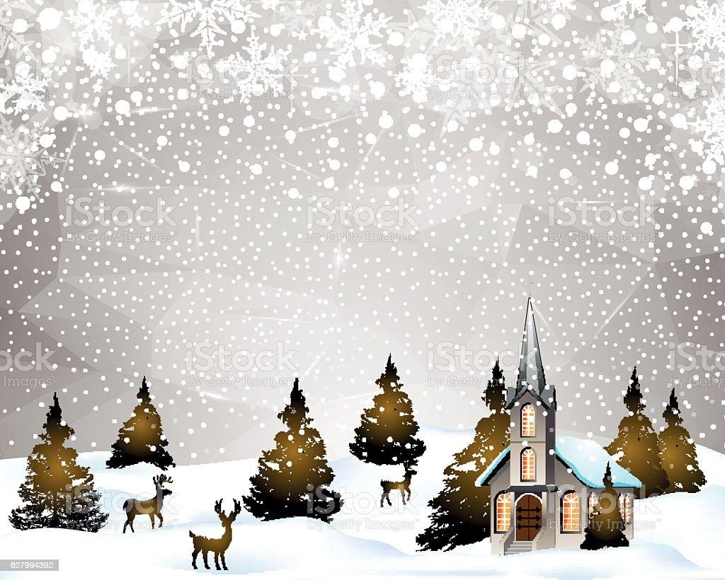Weihnachten Begrüßung Stock Vektor Art und mehr Bilder von Baum ...