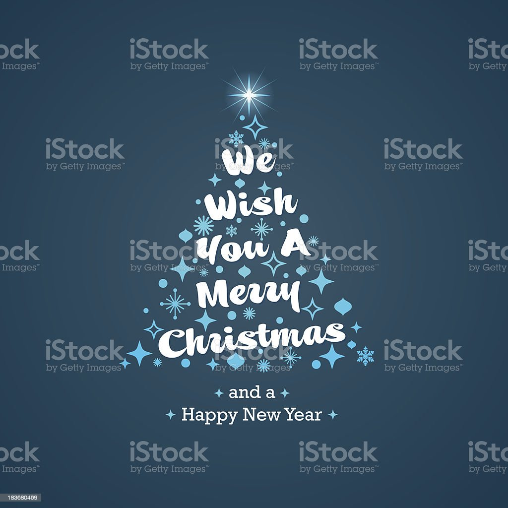Christmas Greetings Card royalty-free christmas greetings card stock vector art & more images of blue