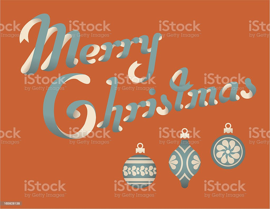 Christmas greetings. royalty-free stock vector art