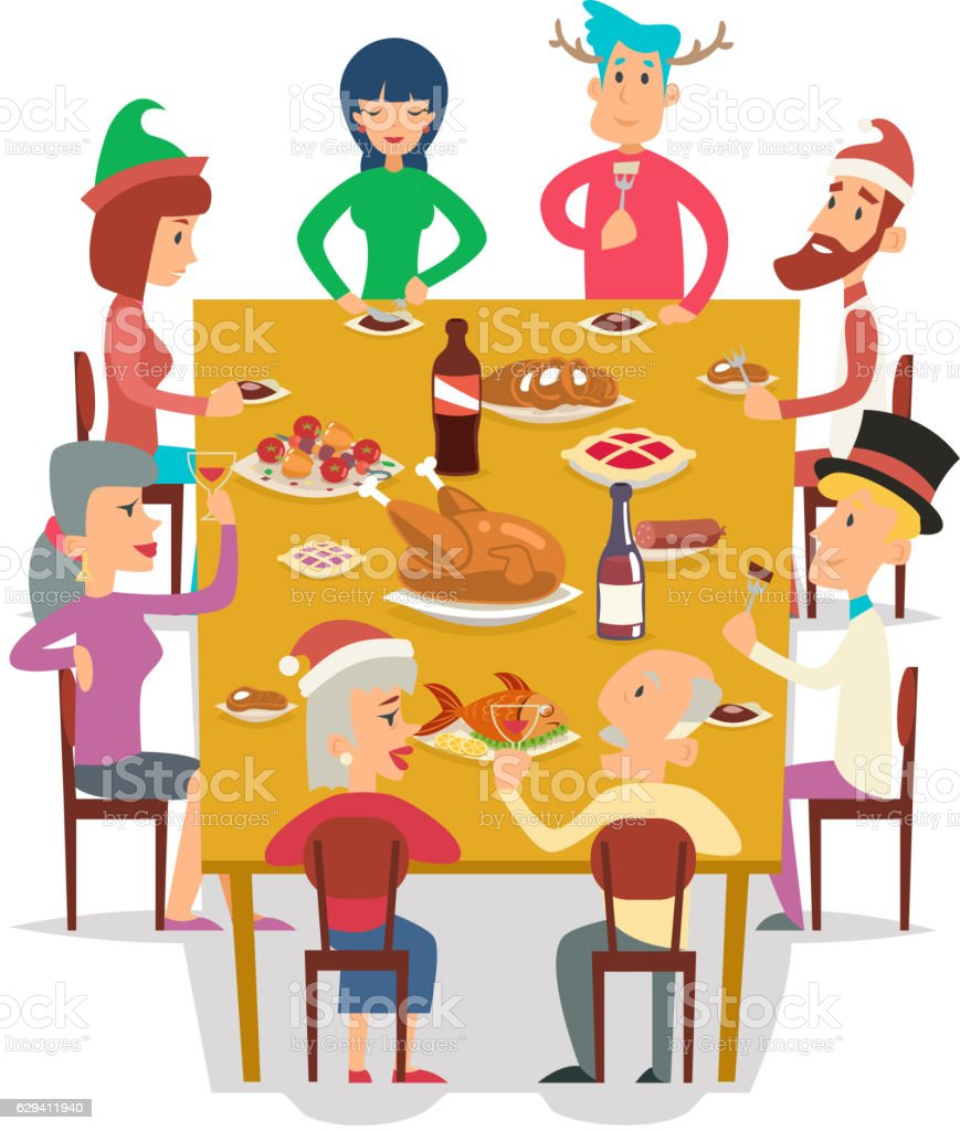 List Of Synonyms And Antonyms Of The Word Lunch With Friends Cartoon