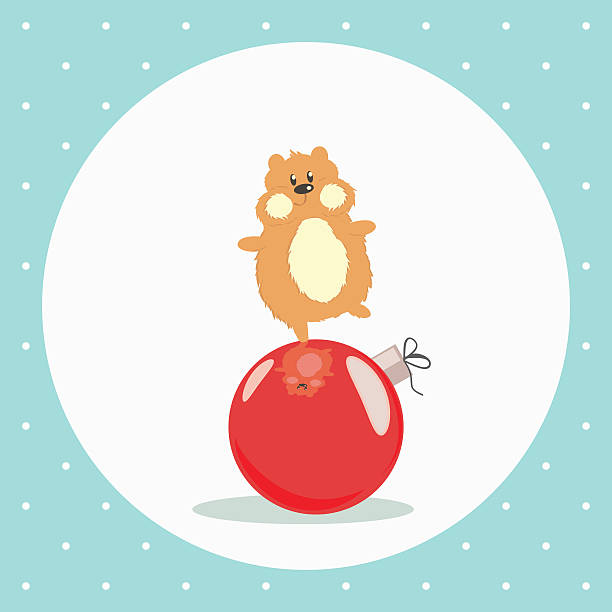 Cartoon Hamster Tennis Stock Vector - Image: 47023248  |Hamster Ball Clipart