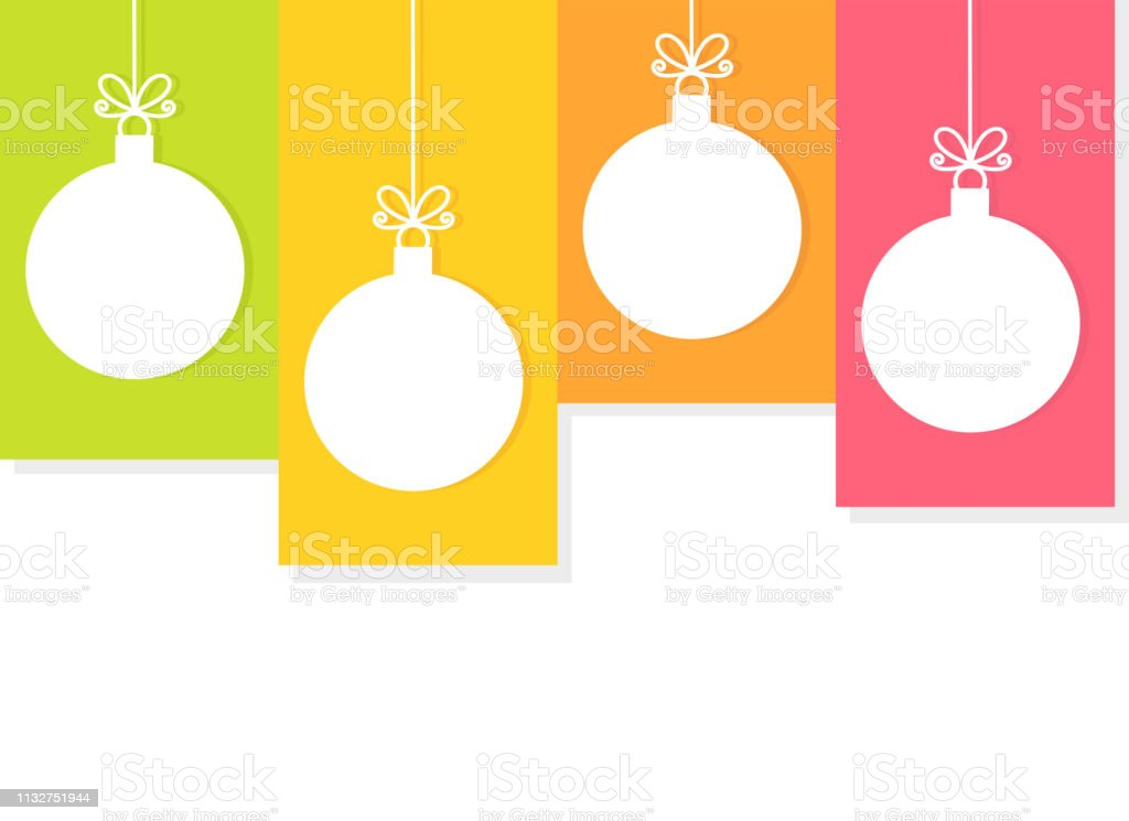 Christmas Ornaments Vector.Christmas Hanging Baubles Ornaments Stock Vector Art More Images Of Backgrounds