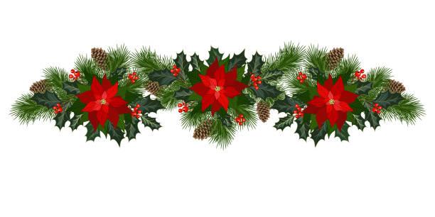 stockillustraties, clipart, cartoons en iconen met kerstdecoraties voor de feestdagen - kerstster