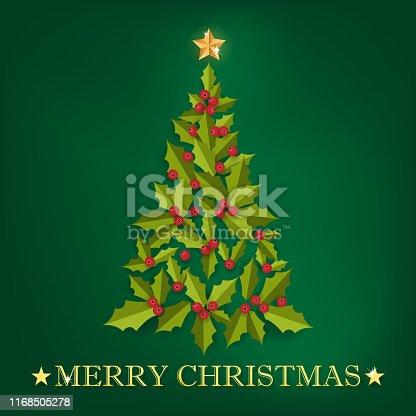 istock Christmas holiday season background. 1168505278