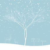 Vector illustratiion of a christmas themed background