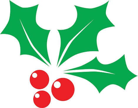 Christmas holly berry - Illustration