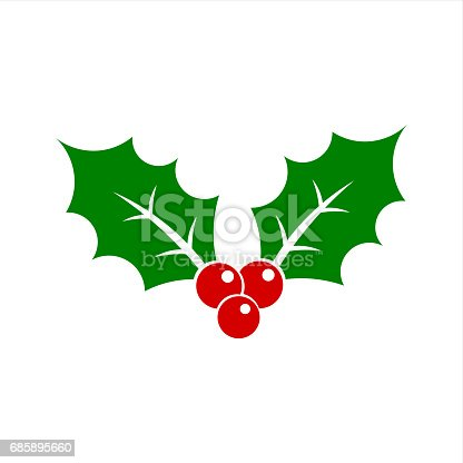 istock Christmas holly berry 685895660