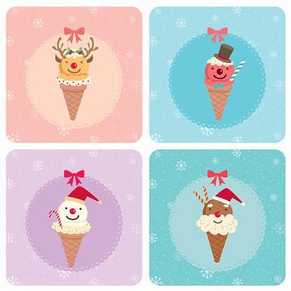 christmas ice cream