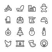 Christmas Icon - Line Series
