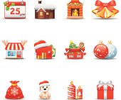 Christmas Icon Set | Elegant Series