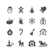 Black christmas related icon can beautify your designs & graphic