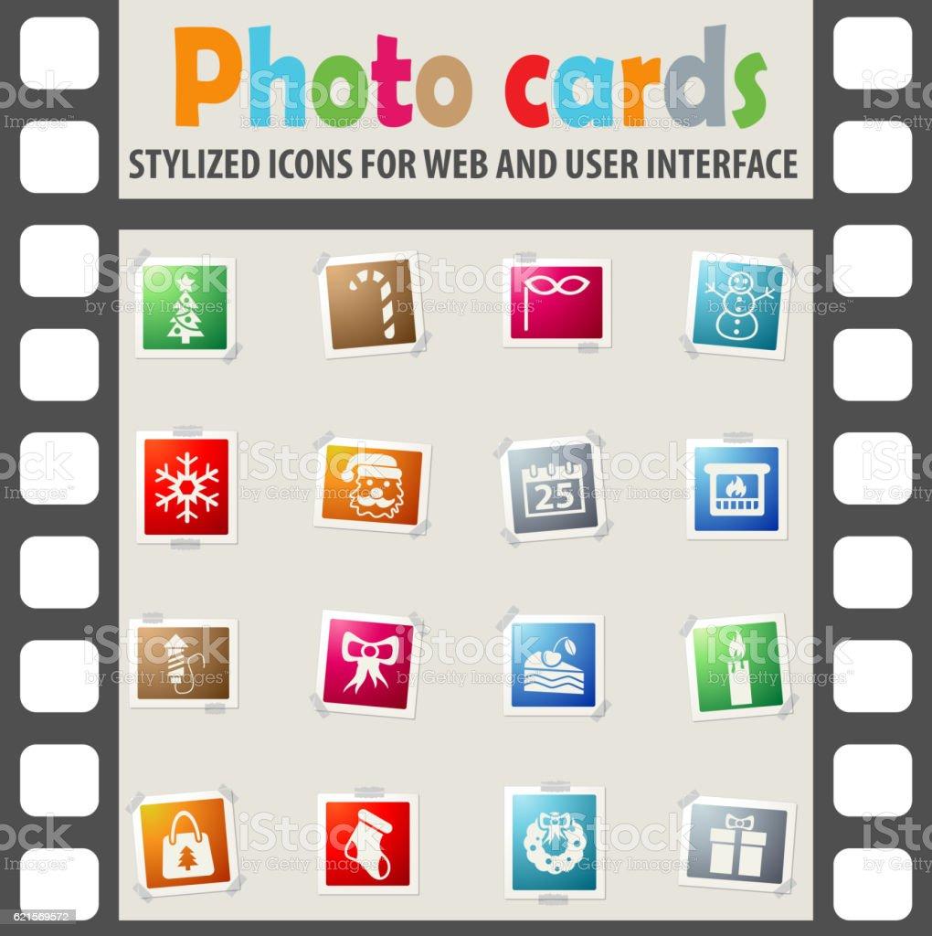 set di icone di Natale set di icone di natale - immagini vettoriali stock e altre immagini di alberta royalty-free
