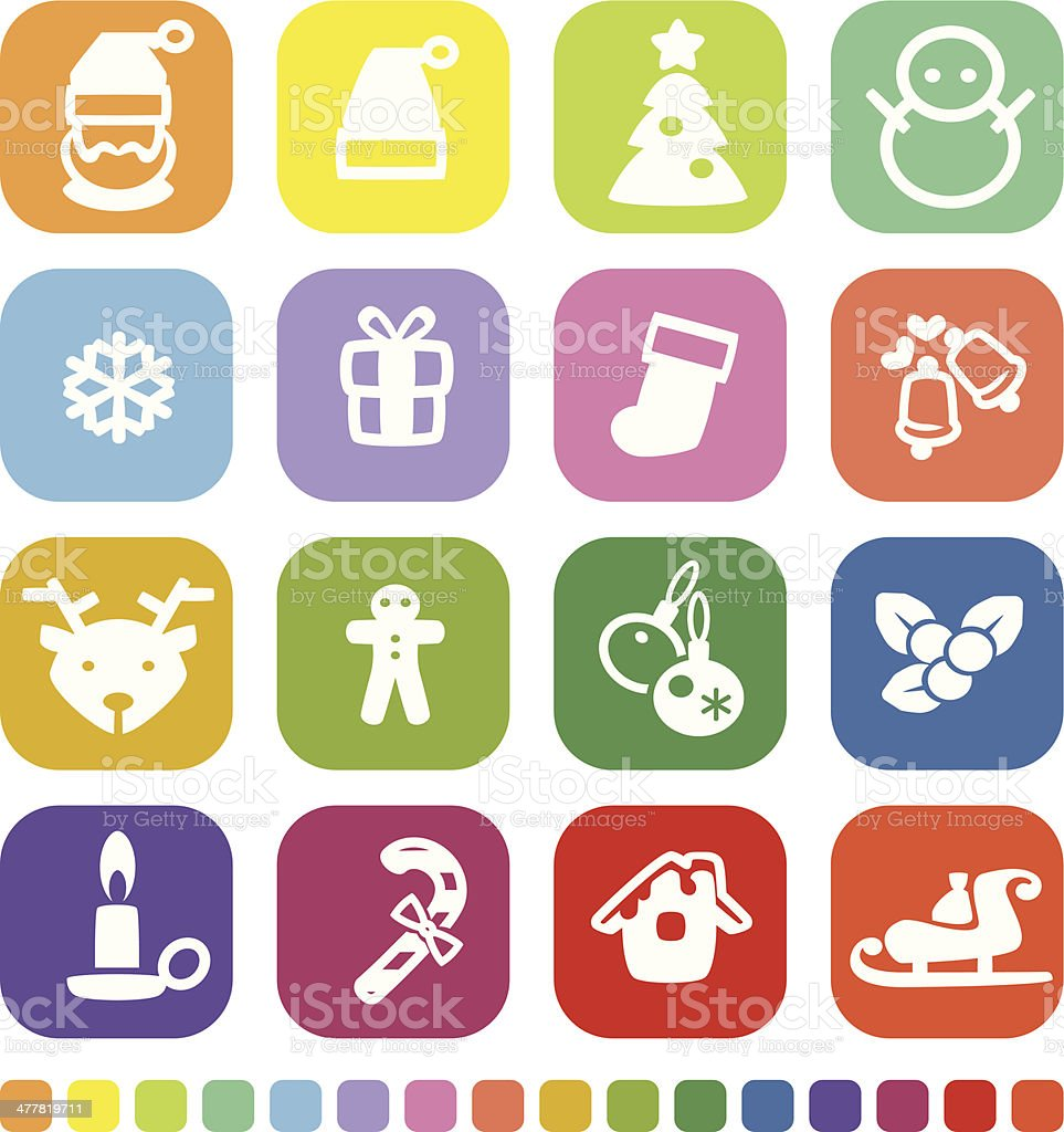 Christmas icon royalty-free christmas icon stock vector art & more images of bell