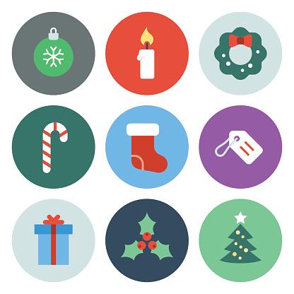 Christmas Icons — Circle Series