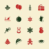 Christmas Icons Color Series Vector EPS10 File Icons.