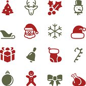 Vector file of Christmas Icons - Color Series related vector icons for your design or application.