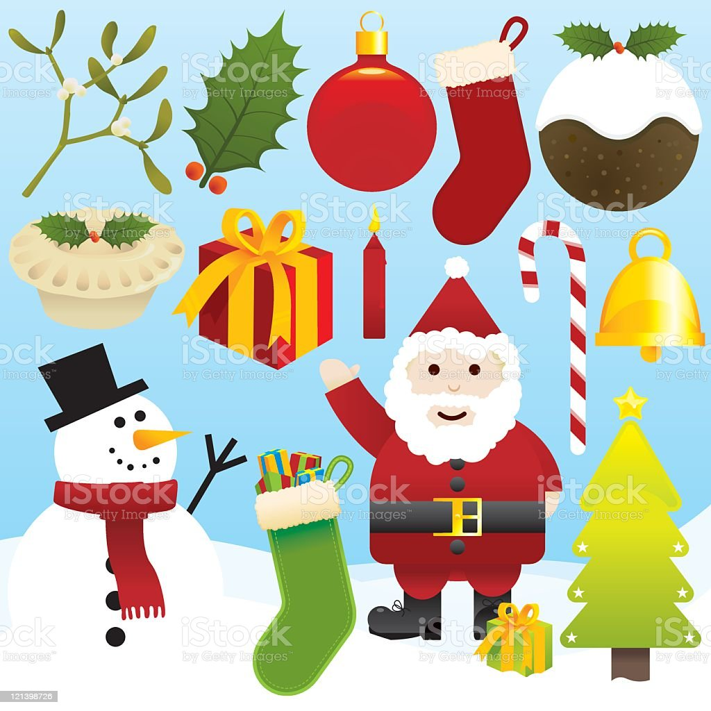 Christmas Icons royalty-free christmas icons stock vector art & more images of bell