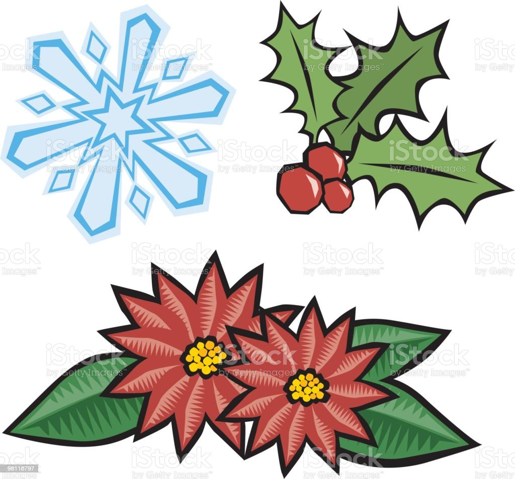 christmas icons royalty-free christmas icons stock vector art & more images of berry