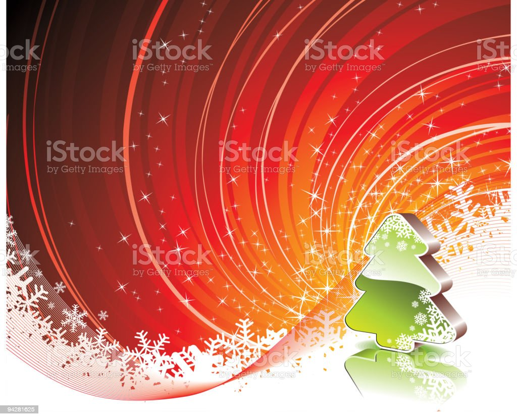 Christmas illustration. royalty-free stock vector art