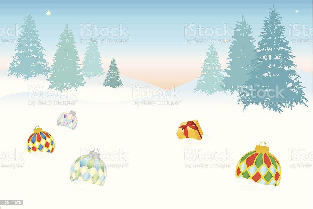 Christmas illustration - Royalty-free Avondbal vectorkunst
