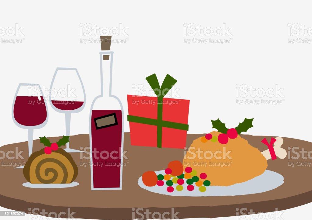 Weihnachten Bilder Clipart.Weihnachtsbild Weihnachtenmaterial Clipart Stock Vektor Art Und Mehr