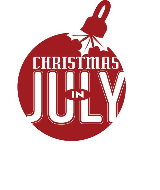 Christmas In July Clipart Black And White.Best July Illustrations Royalty Free Vector Graphics Clip