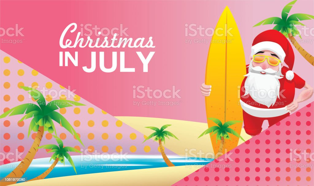 Christmas In August Poster.Christmas In June July August For Poster Marketing