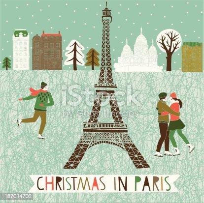 istock Christmas in Paris 187014702