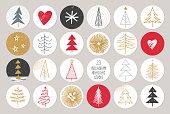 Christmas Instagram Story Highlight Templates Set