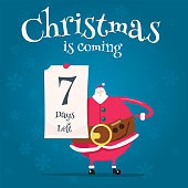 Santa Claus, Christmas, List, Holiday - Event, Letter,count, countdown,counter, date,