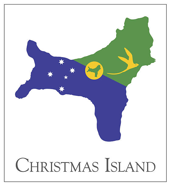 Royalty Free Christmas Island Clip Art, Vector Images ...