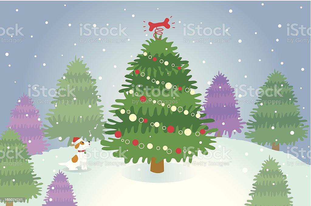 Christmas Jack royalty-free stock vector art