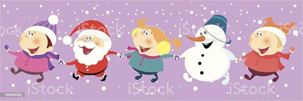 Christmas joy. royalty-free stock vector art