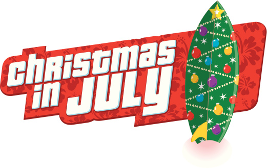 Christmas July Heading C