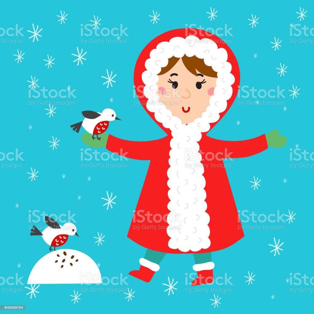 Weihnachten Kind Spielt Winter Spiele Kinder Spielen Schneebälle ...