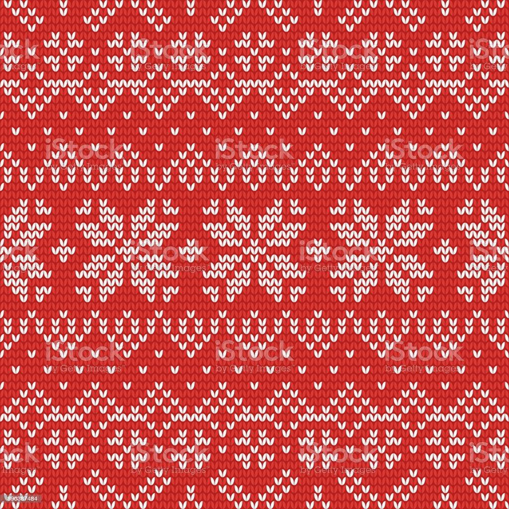 66e36f8b9 Christmas Knitting Seamless Pattern With Stars Zig Zag And Stripes ...