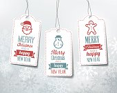 istock Christmas Labels - Decorations. 491632446