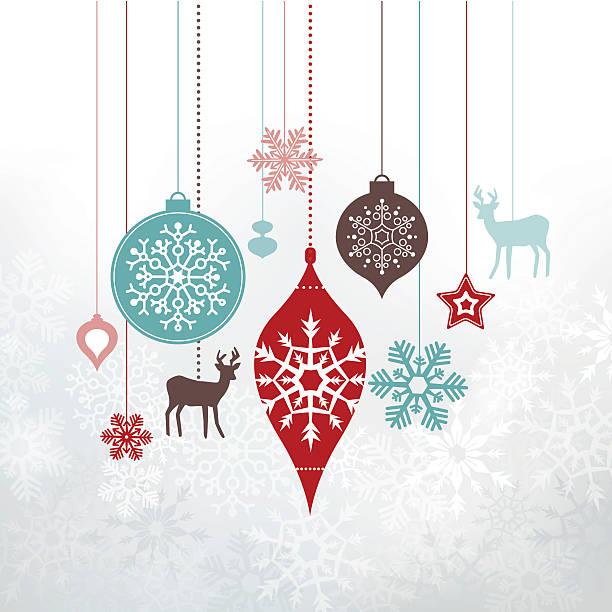 クリスマスラベル-調度品、装飾品です。 - ホリデーシーズンのアイコン点のイラスト素材/クリップアート素材/マンガ素材/アイコン素材