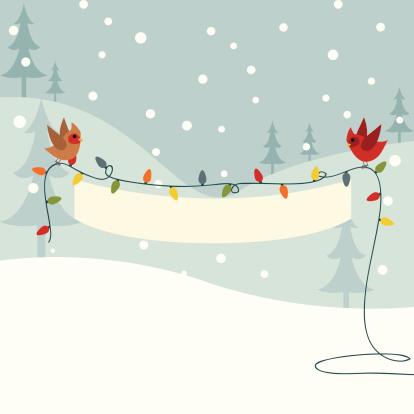 Christmas Light Banner