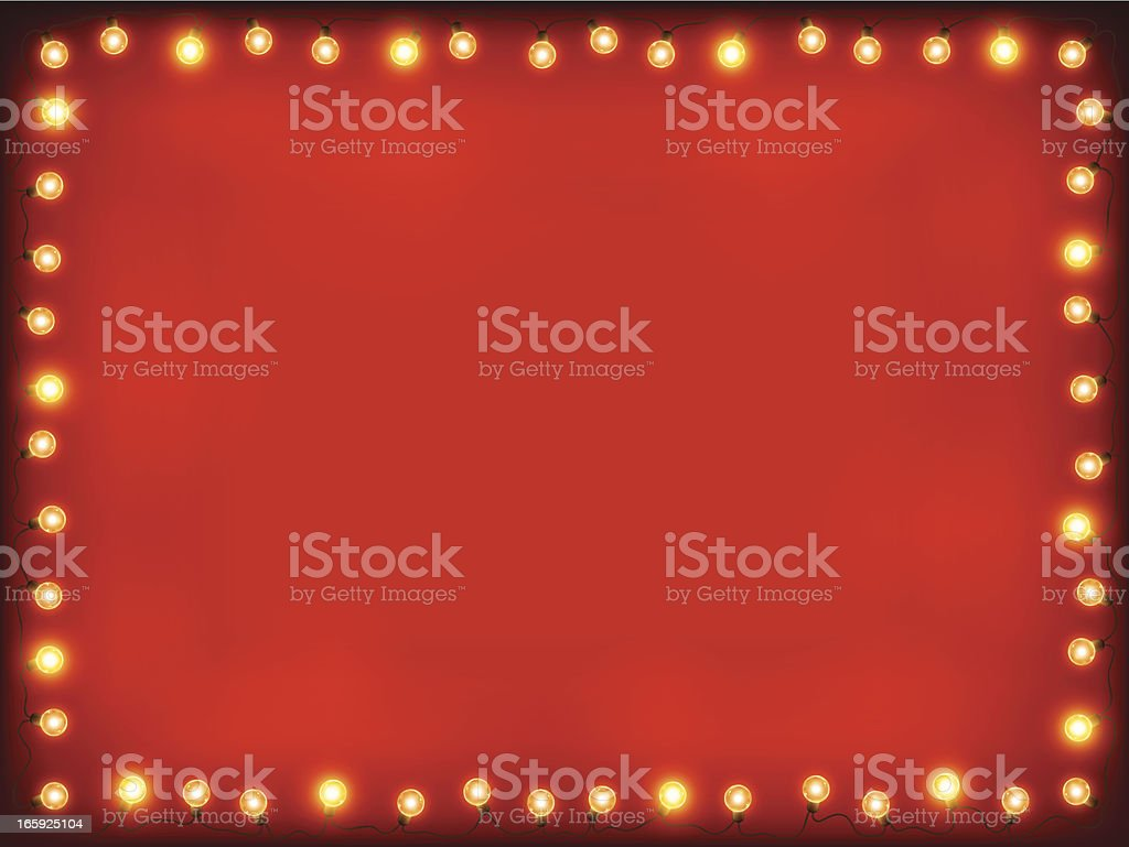 Christmas lights Background royalty-free stock vector art
