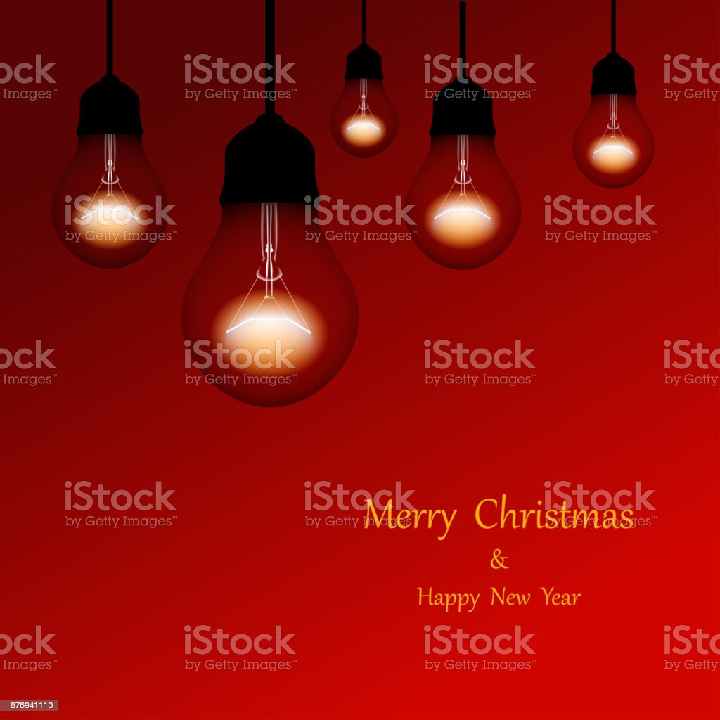 Merry Christmas Poster 2018.Christmas Lights Holiday Background Merry Christmas Poster