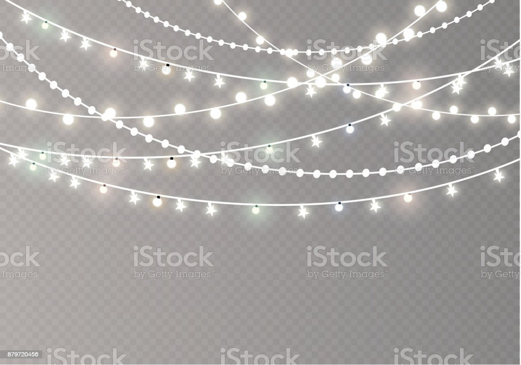 Clear White Christmas Lights