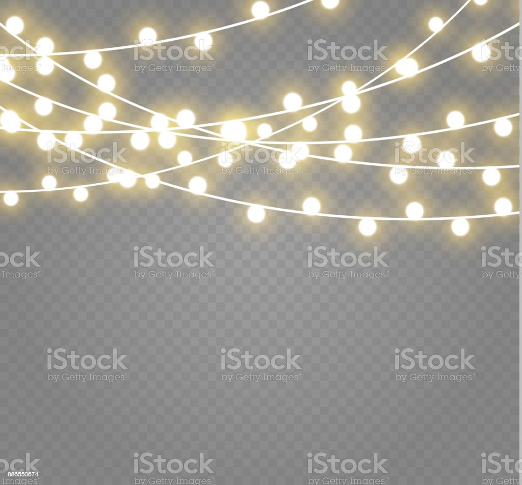 Dangling Christmas Lights