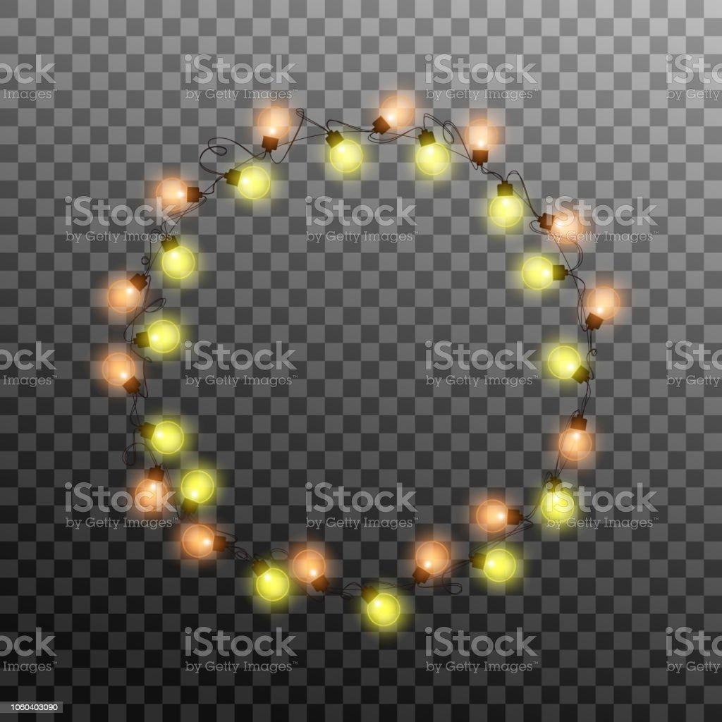 Kerstverlichting Realistische Veelkleurige String Lichten Garland
